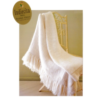 Baby Brush Alpaca Throw