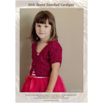 (1211 Girls Smocked Cardigan)