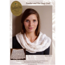 (2108 Feather and Fan Lacy Cowl)