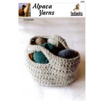 (2906 Chunky Brushed Crocheted Basket)