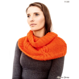 AY 1120 Brushed Alpaca Cowl
