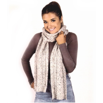 (AY 1217 Cable Scarf)