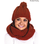 AY 2911 Cowl and Beanie