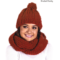 (AY 2911 Cowl and Beanie)