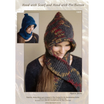 (AY1009 Hooded Scarf)