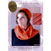 (AY1117a Cabled Hat and Cowl)