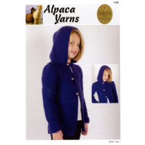 (AY1126 Childs Hooded Jacket)