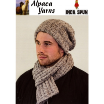 (AY1216 Beanie and Scarf)