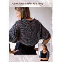 (AY2402 Summer Open Knit Shrug)