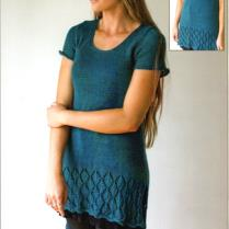 (AY2405 Summer Lace Border Tunic)
