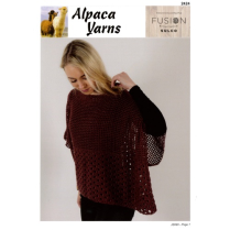 (AY2424 Crochet Throw Over Top)