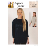 AY2428 Eyelet Sweater