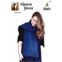 (AY2901 Crocheted Scarf)