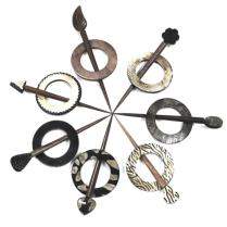 (Ring Stick Shawl Pins)