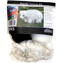 (NFKS Needle Felting Kit - Sheep)