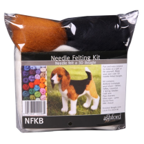 (NFKB Needle Felting Kit - Beagle)