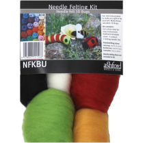 (NFKBU Needle Felting Kit - Bugs)