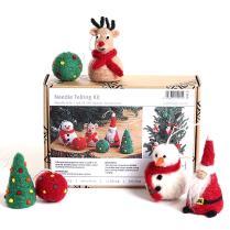 (NFKCS Christmas Needle Felting Kit)