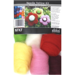 NFKF Needle Felting Kit - Flowers