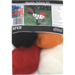 NFKR Needle Felting Kit - Rooster