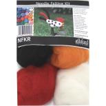 NFKR Needle Felting Kit - Rooster