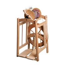 (CS2  Country Spinner 2 Double Treadle Natural)
