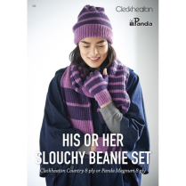 (155 His or Her Slouchy Beanie Set)