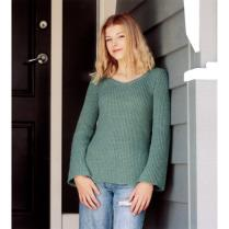 (N1546 Fitting Side Slit Sweater)