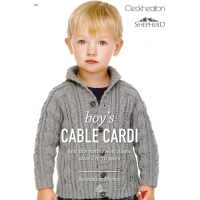 152 Boy's Cable Cardi
