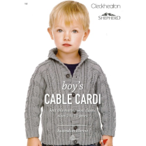 (152 Boy's Cable Cardi)