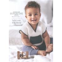 416 Baby Vest & Bunting
