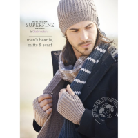 SF453 Mens Scarf, Beanie and Mitts
