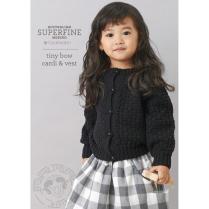 (SF455 Tiny Bow Cardi & Vest)