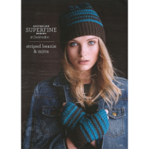(SF431 Striped Beanie and Hat)
