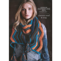 (SF433 Chevron Scarf and Wrap)