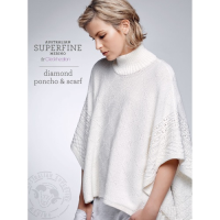 SF435 Diamond Poncho and Scarf