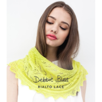 DB005 Lace Edged Cowl