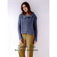 DB106 Interlaced Cables Cardigan