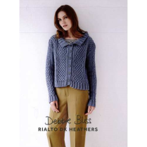 (DB106 Interlaced Cables Cardigan)