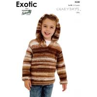 KX 330 Sweater with Hood