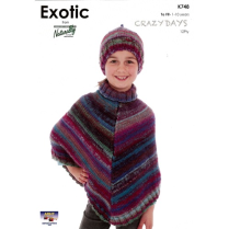 (K748 Poncho and Hat)