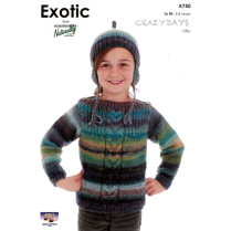 (K750 Sweater and Hat)