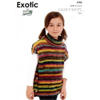 KX 783 Poncho Sweater