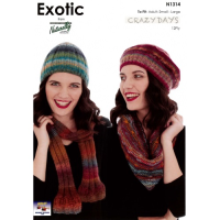 Nx 1314 Scarf, Cowl and Hats