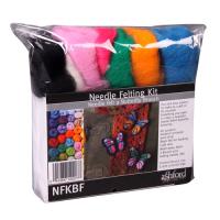 NFKBF Needle Felting Kit - Butterflies