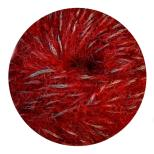 33 Red Silver Thread