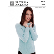 (F1143 Sweater with side split)