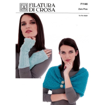 (F1146 Cowl and Wrist Warmers)
