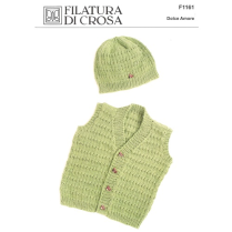 (F1161 Sleeveless Vest and Hat)