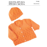 F1162 Cardigan and Hat